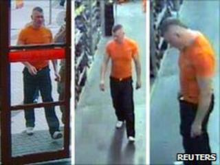 CCTV images of Raoul Moat