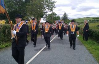 Rossnowlagh parade