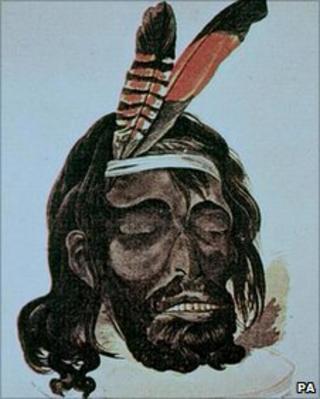 Period portrait of Yagan