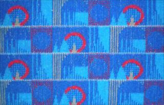 Winning Tube seat fabric design