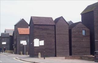 Net huts in Hastings