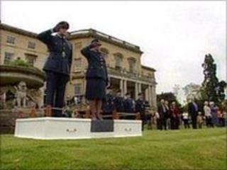RAF Bentley Priory closing ceremony