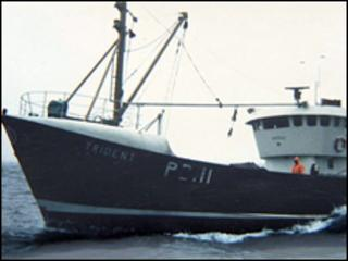 The trawler Trident