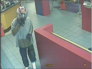 CCTV image of suspect robber