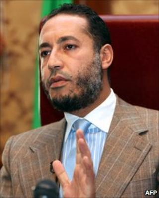 Saadi Gaddafi (31 January 2010)