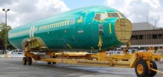 Boeing 737 fuselage