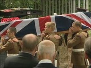 Douglas Halliday funeral