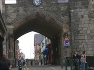 Y Porth Mawr or East Gate Street