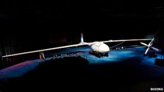 Phantom Eye, Boeing's hydrogen powered unmanned aircraft (Image: Boeing)