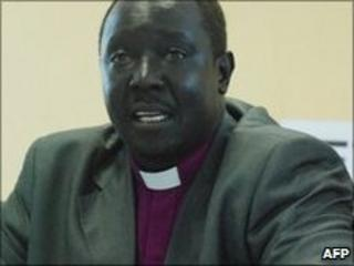 Bishop Paul Yugusuk in Southern Sudan