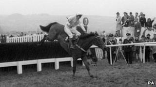 Richard Dunwoody riding Charter Party in the 1988 Cheltenham Gold Cup