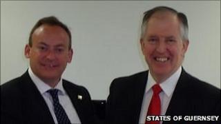 Lyndon Trott and Lord McNally