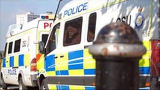 Police van generic