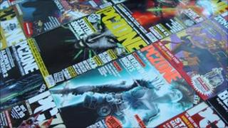 Back issues of PC Zone Magazine