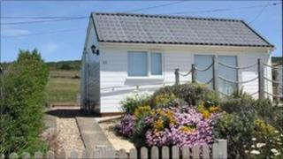 The chalet at West Bexington