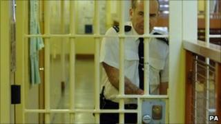 Prison officer at Belmarsh maximum security jail in south east London