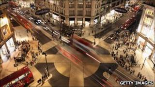 """Oxford Circus """"x-shaped"""" crossing"""