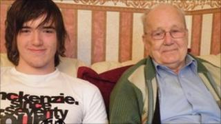 Cameron Martin and Peter Muircraft