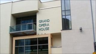 Better in beige? The newly painted Grand Opera House