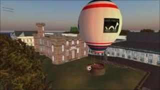 Inverness Castle in Second Life
