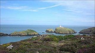 Strumble Head - photo Alwyne Jenkins