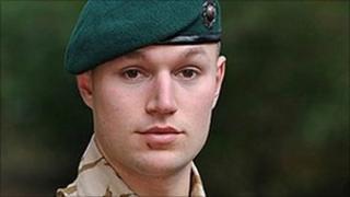 Royal Marine Matthew Harrison