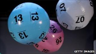 National Lottery balls