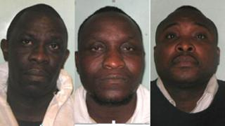 (L to R) Boateng, Hungwe and Gyau