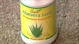 Gayatri brand aloe vera juice