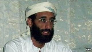 Anwar al-Awlaki in photo released 10 November 2009 by SITE Intelligence Group