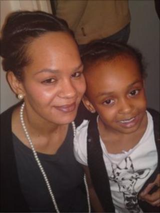 Carleen Rowe and daughter