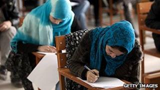 Students in Afghanistan