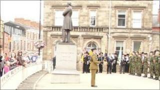 Ceremony in Hereford