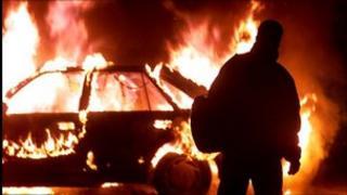 riots in north Belfast