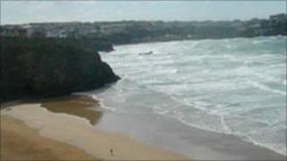 Tolcarne beach, Newquay
