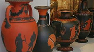 Pottery at the Wedgwood Museum