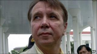 Russian pianist and conductor Mikhail Pletnev at Pattaya provincial court