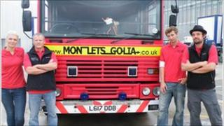 Four fund raisers and a fire engine