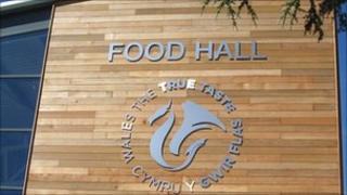 The new food hall