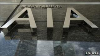AIA sign