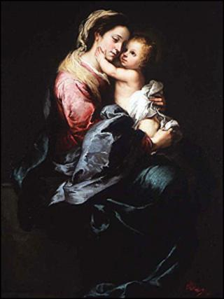 The Virgin and Child by Murillo