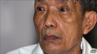Duch, in court in Phnom Penh