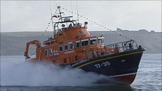 Plymouth's Severn class all-weather lifeboat