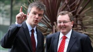 Michael Moore and David Mundell
