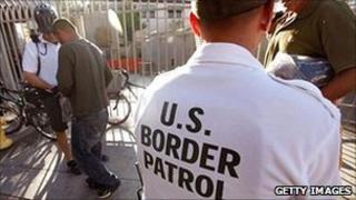 Border Patrol agents in Arizona