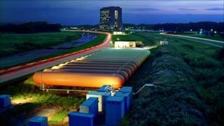 Tevatron ring (Fermilab)