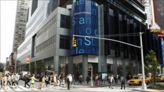 Morgan Stanley HQ, New York