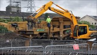 Generic construction site