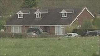 House where boy was found in pond