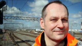 Iain Croucher, Network Rail chief executive